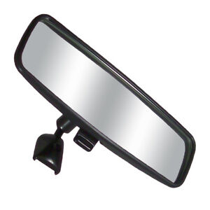 8 Day Night Rearview Black Windshield Mirror For Car Truck Auto