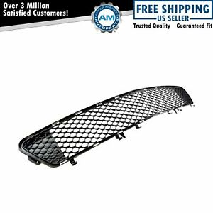 Oem 2128851253 Grille Black Mesh Bumper Mount Front For Mercedes E350 E550 Amg