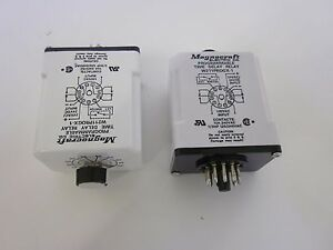 Magnecraft Electric W211progx 1 Programmable Time Delay Relay Lot Of 2 Used