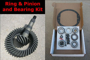Gm 8 2 Chevy 10 bolt Gears 3 73 Ratio Master Bearing Installation Kit New