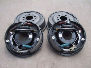 9 Ford Bolt on 11 Drum Brake Kit 9 Inch Small Ford Housing Ends Sbf