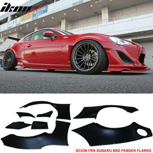 Fits 13 16 Scion Frs Subaru Brz Gr Style Fender Flare Cover Abs