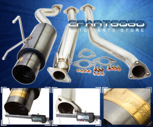 02 06 Acura Rsx Type S Jdm Gunmetal N1 2 5 Catback Exhaust System 4 5 Muffler