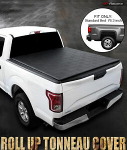 For 2009 2019 Dodge Ram 1500 2500 6 5 Feet Bed Lo Roll Lock Soft Tonneau Cover