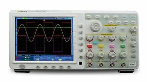 Owon Tds8104 100mhz 2gs s 7 6mpts 4 Channels Touch Screen Digital Oscilloscope