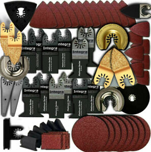 249pc Variety Pack Oscillating Multi Tool Saw Blade Fits Fein Multimaster bosch