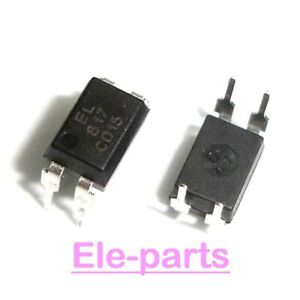 1000 Pcs El817c Dip 4 El817 Pc817 Optocoupler Ic New