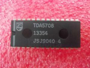 10pcs Tda5708 Encapsulation dip 28 photo Diode Signal Processor For Compact