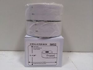 2 Rolls Of 350 Address Labels For Dymo Labelwriter 450 450 Turbo 30252