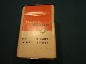 1967 Corvair Delco Ignition Switch 1116687 D1483 Sealed Container