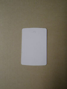 1000 Price Tags Small Clothing Tag Gun Blank White Pin Ticketer 1 1 4 X 1 3 4