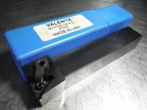 Valenite Indexable Lathe Tool Holder 1 x1 Shank Mtfnr 16 4 D loc1360a