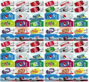 Qty 72 Soda Machine Vending Variety Label Pack Late Style And Size Ships Free