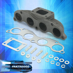 For 02 06 Acura Rsx 02 05 Civic Si Ep3 K20 Race Turbo Manifold Cast Iron T3 t4