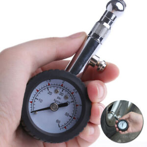 New Car Vehicle Automobile Tire Air Pressure Gauge 0 60 Psi Dial Meter