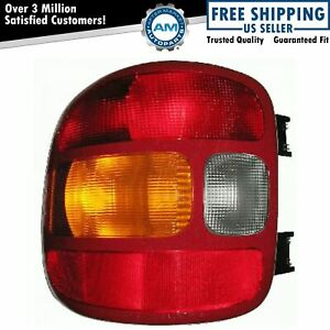 Taillight Taillamp Driver Side Left Lh For 99 03 Silverado Sierra Truck Stepside