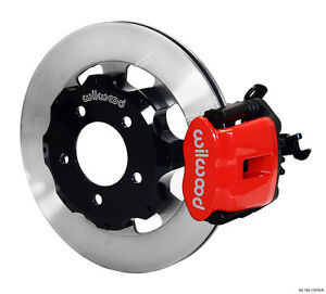 Wilwood 2006 up Civic Crz Cpb Rear Kit 12 19 Red 140 11979 r