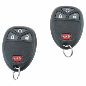 Oem Remote Start Dual Key Fob Transmitter Kit For Chevy Gmc Pickup Truck New