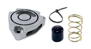 Torque Solution Blow Off Bov Sound Plate Silver For 2014 Kia Forte Koup Turbo