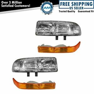 Headlight Corner Light Kit Set Of 4 For S10 S15 Pickup Blazer Jimmy New