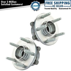 Rear Wheel Hub Bearing Left Right Pair Set For Ford Taurus Flex Mks Mkt