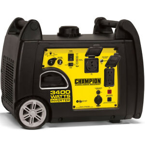 Champion 100233 3100 Watt Inverter Generator W Rv Outlet
