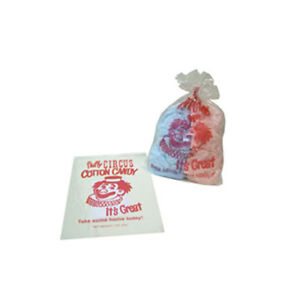 Cotton Candy Bags Clown Quick Pak 3065 By Gold Medal