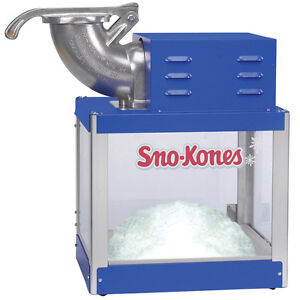 Snow Cone Machine Ice Shaver Gold Medal 1203 Shav a doo