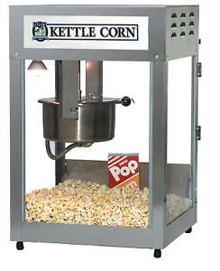 Kettle Corn Commercial Popcorn Machine Gold Medal 16 18oz 2554kc