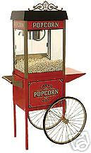Home Theater Commercial Popcorn Machine Popper Maker Street Vendor 4 11040 30010