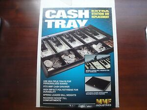 Mmf Industries Cash Drawer Tray With Keys 16 x11 1 2 New In Box 2252862c04