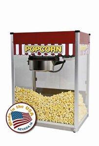 Commercial Theater 14 Oz Popcorn Machine Popper Maker Paragon Classic Pop Clp 14