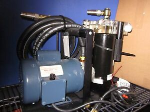 Modoc Pumps Int l Pi 3 Vacuum Pump W Franklin Electric 411020101 Motor