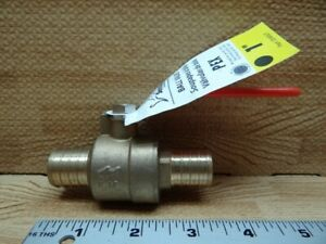 Pex Sharkbite Danco E z Turn Straight Ball Valve 1 2 Pipe X 3 8 59203e