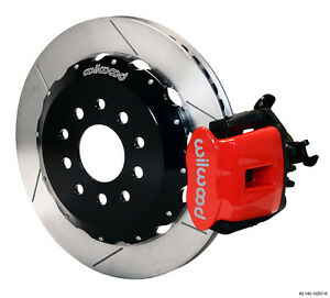 Wilwood 90 99 Civic W 240 Mm Disc Dp6 Front Kit 12 19 Red 140 10736 r