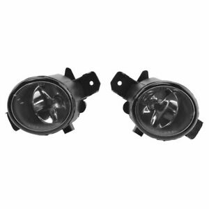 Performance Clear Lens Fog Light Pair Set For Altima Sentra Maxima Rogue New