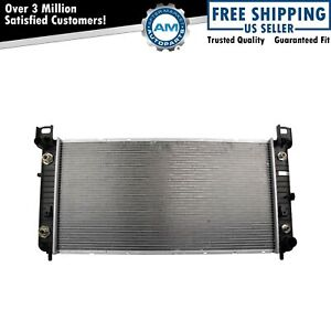 Radiator Assembly Aluminum Core Direct Fit For Chevrolet Cadillac Gmc Truck New