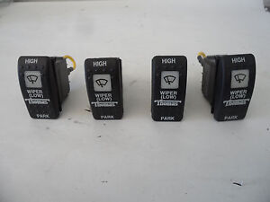 4 X Thomas Carlingswitch Vex1 Lighted Toggle Switches