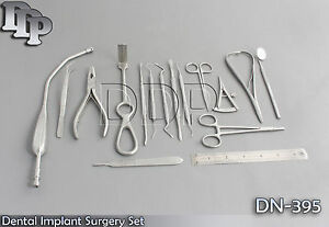 Dental Implant Surgery Set Of 16 Pcs Surgical Instruments Dn 395