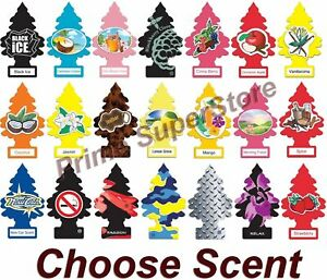 Little Trees Hanging Air Freshener Choose Scent Car Truck Rv Home Office 6 10 24