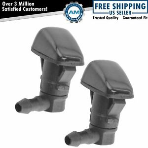 Dorman Windshield Washer Nozzle Spray Jet Front Pair For 08 15 Cadillac Cts