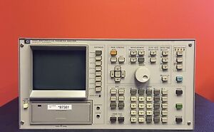Hp agilent 4145a 1 Mv To 100 V 1 Pa To 100 Ma Semiconductor Parameter Analyzer