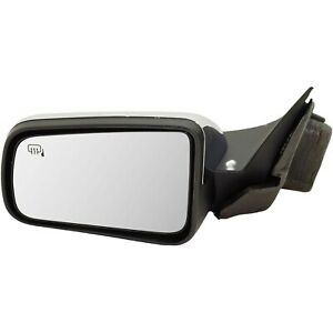 Power Mirror For 2008 2011 Ford Focus Front Driver Side Heated Chrome