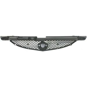Grille Grill Insert Assembly Black Mesh Front For 02 04 Acura Rsx