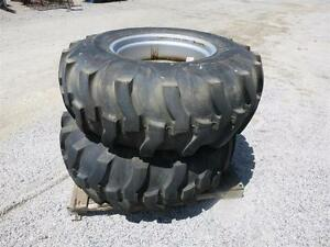 16 9 24 Titan R 4 Heavy Duty 10 Ply 2 tires W new Holland Rims For Tractors