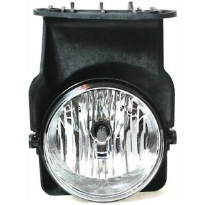 Clear Lens Fog Light For 2005 07 Gmc Sierra 1500 Rh Plastic Lens With Bulb