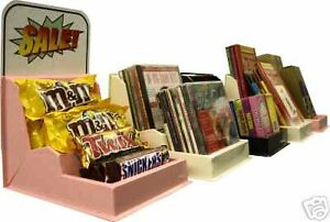 12 Store counter plastic Display candy books cd dvd video Games Concession Sale