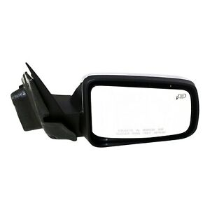 Power Mirror For 2008 2011 Ford Focus Front Passenger Side Heated Chrome