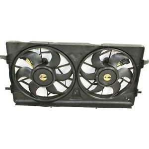 Radiator Cooling Fan For 05 10 Chevy Cobalt 04 07 Saturn Ion Dual Fan 2 0l Turbo