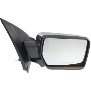 Kool Vue Mirror For 2011 14 Ford F 150 Power Fold With Puddle Light Chrome Right